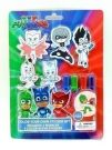 PJ MASKS COLOR YOUR OWN STICKERS